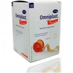 Omniplast Esparadrapo Hipoalergico Tela 10 X 10 Cm Rosa