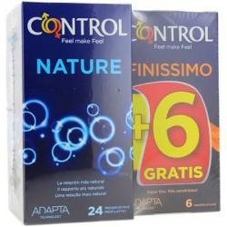 Control Nature 24 Unidades + Gratis 6 Unidades Control Finissimo