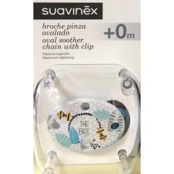 Broche Pinza Ovalado Suavinex The Bee