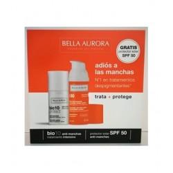 Bella Aurora Bio10 Protect Anti-Manchas 30 ml + Crema Solar Spf50+ 30 ml