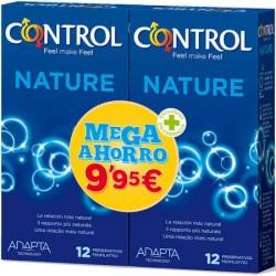 Control nature 12+12 preservativos pack