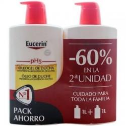 Eucerin duplo pH5 Oleogel de Ducha 1L + 1L