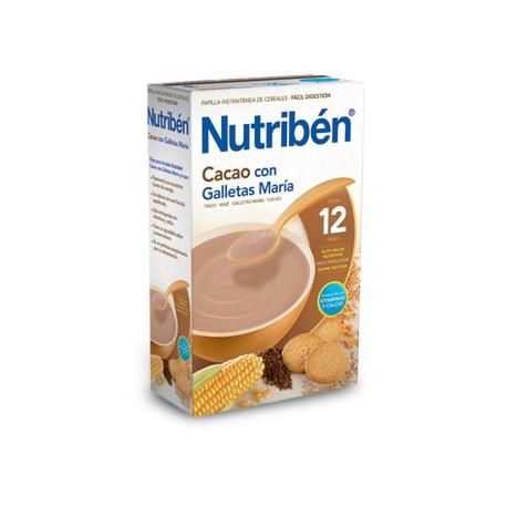 Nutriben 500g Cacao con galletas María+12meses