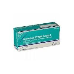 CARMELOSA STADA 5 MG/ML COLIRIO EN SOLUCION EN ENVASE UNIDOSIS , 30 envases unidosis de 0,4 ml