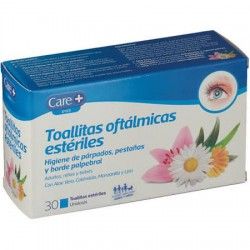 Care+ Toallitas oftálmicas estériles 30uds