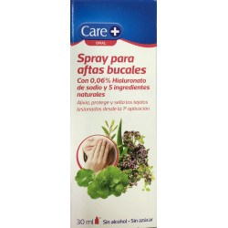 Care+ Spray para aftas bucales 30ml