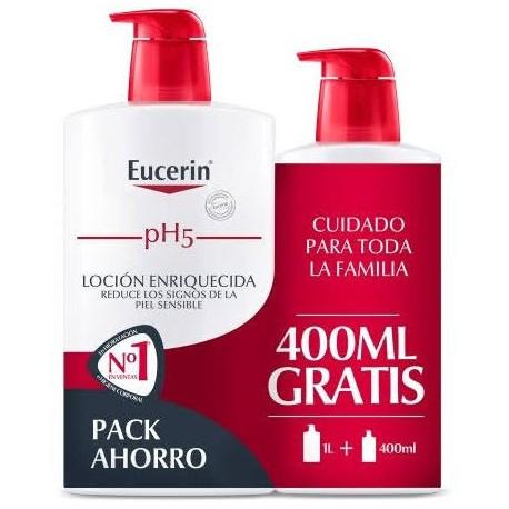 Eucerin Family Pack pH5 Skin-Protection Loción Enriquecida 1l + 400ml
