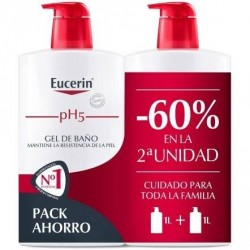 Eucerin Duplo Gel De Baño 1l+1l