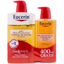Eucerin Ph5 Oleogel De Ducha 1000 ml + 400 ml