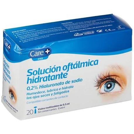 Solución oftálmica hidratante Care+ STADA 0.2% Hialuronato de sodio