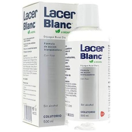Lacer Blanc Colutorio Menta 500ml