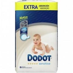 Pañal Dodot  Sensitive Extra 7-11kg Talla 3 60uds
