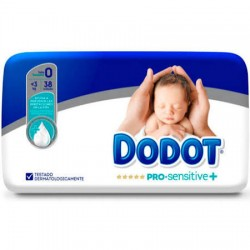 Pañales Dodot Pro Sensitive Talla 0 Hasta 3Kg 38Uds