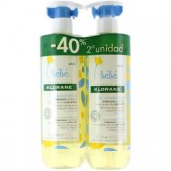 Klorane Bebé Gel Cuerpo Y Cabello 500 ml + 500 ml DUPLO