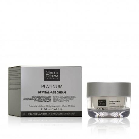 Martiderm Vital Age Platinum Crema Pieles Normales Y Mixtas 50 ml