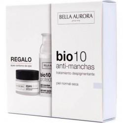 Bella Aurora Bio 10 Anti Manchas Piel Normal Seca+Contorno de Ojos de Regalo