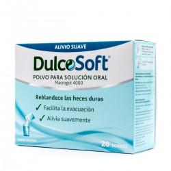 DulcoSoft Polvo para Solución Oral Sabor Neutro Sanofi 20 Sobres