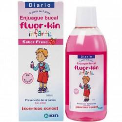 Fluor kin infantil colutorio 500ml