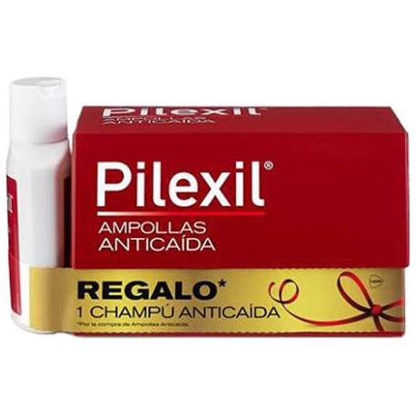 Pilexil Ampollas Anticaída 15 Unidades + REGALO Mini Champú Anticaída