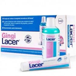 GingiLacer pasta dental 125ml + colutorio 100ml