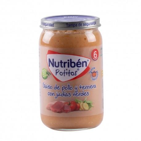 Nutriben Ternera con patatas y Znahorias +6m 235gr