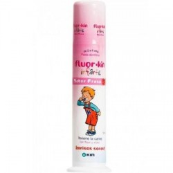 Kin fluorkin pasta dental infantil dosificador 100ml