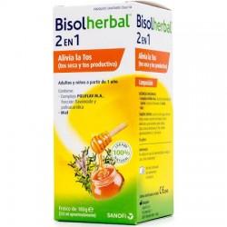 Bisolherbal 2en1 jarabe 180gr Tos Seca y Productiva