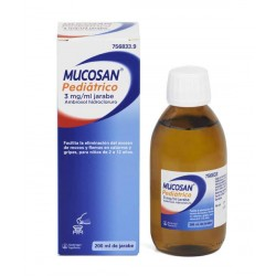 MUCOSAN PEDIATRICO 3 mg/ml JARABE 200ML