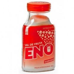 SAL DE FRUTA ENO POLVO EFERVESCENTE SABOR NARANJA , 1 frasco de 150 g