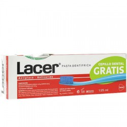 Lacer Pasta Dental 125ml + Cepillo dientes