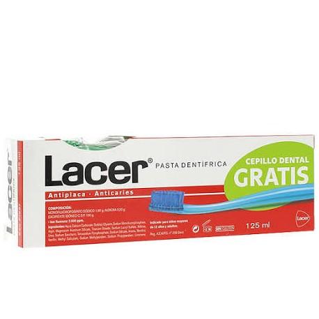 Lacer Pasta Dental 125ml + Cepillo dientes