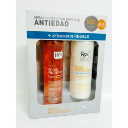 ROC SOLEIL PROTEXION + SPRAY PROTECCION INVISIBLE ANTIEDAD 150 ML + AFTERSUN LECHE REPARADORA 200 ML SET