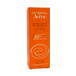 Avène Solar crema coloreada SPF50+ 50ml