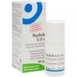 Hyabak Solución 10ml