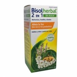 Bisolherbal 2en1 jarabe 120ml Tos Seca y Productiva Sin Azucar