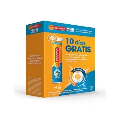 Redoxon doble Accion 30 comprimidos + 15 gratis Sabor naranja