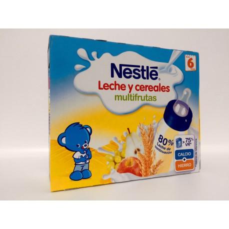 Nestle Leche y Cereales Multifrutas (Brik 250 Ml 2U)
