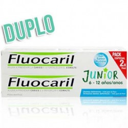 Fluocaril Gel Bubble Junior 6-12 Años 2x75ml