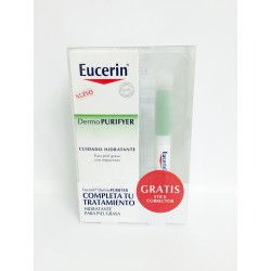 Eucerin Dermo Purifyer Hidratante 50 ml + Stick Corrector De Regalo
