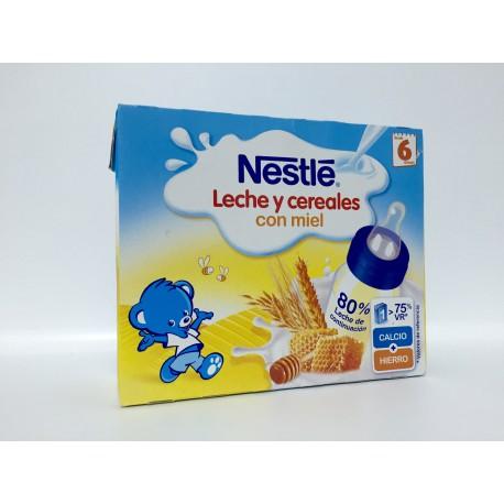 Nestle Leche y Cereales con Miel (Brik 250 Ml 2U)