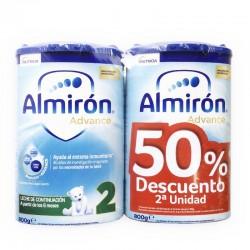 Almiron Pronutra Advance 2 800gr Segunda Unidad al 50%