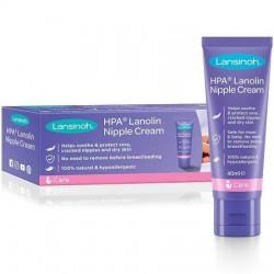 Lansinoh lanolina hpa para pezones y piel agrietada 40ml