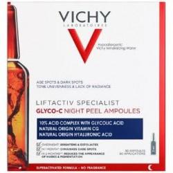 Ampollas Liftactiv Glyco-C Peeling Noche Vichy 30Uds x 2ml
