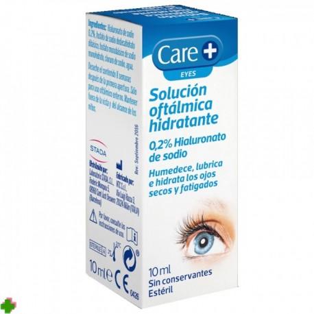 Solución oftálmica hidratante Care STADA 0.2% Hialuronato de sodio 10 Ml