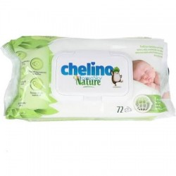 Chelino Nature toallitas infantiles 72 uds