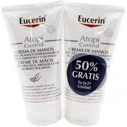 Eucerin Atopicontrol crema de manos 75ml+75ml Duplo