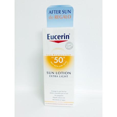 Eucerin Pack Locion Light FPS50+ 150 ml + Aftersun 150 ml