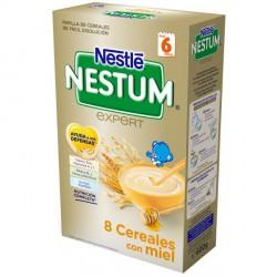 Papilla nestum expert 8 cereales con miel nestlé 600 gr 6m+