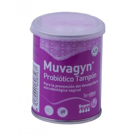 MUVAGYN PROBIOTICO TAMPON SUPER 8UDS