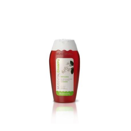 Mussvital Champú anticaída 300 ml+Champú de uso frecuente 300 ml